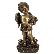 Ангел с букетом МК 1052