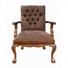 Кресло в стиле Чиппендейл.BA3004-M