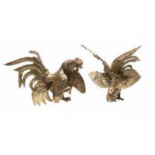 Фигурки петухов (комплект из двух штук) 9106