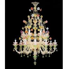 Люстра Rezzonico из Муранского стекла с позолоченными украшениями VO 71