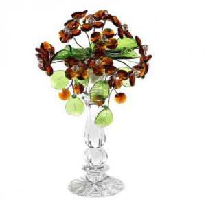 Цветок хрустальный со стразами CNA04002/22 TOP