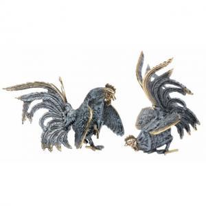 Фигурка петуха (комплект из 2 штук) 9206