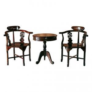 Цюань-И – комплект (стул+2 кресла). Династия Цин. BF-20079