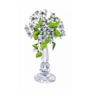 Цветок хрустальный со стразами CNA04002/22 CR lb