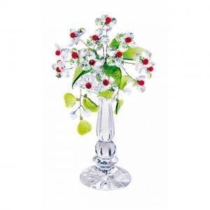 Цветок хрустальный со стразами CNA04002/22 CR r