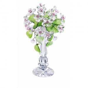 Цветок хрустальный со стразами CNA04002/22 CR ros