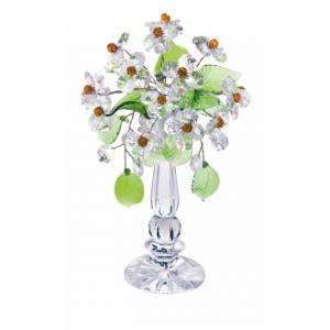 Цветок хрустальный со стразами CNA04002/22 CR t