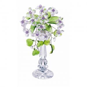 Цветок хрустальный со стразами CNA04002/22 CR vl