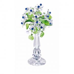 Цветок хрустальный со стразами CNA04002/22 CR s