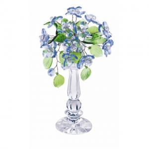 Цветок хрустальный со стразами CNA04002/22 LT BL