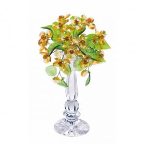 Цветок хрустальный со стразами CNA04002/22 LT TOP