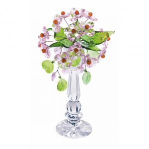 Цветок хрустальный со стразами CNA04002/22 ROS