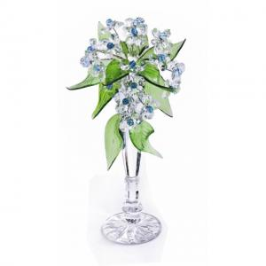 Цветок хрустальный со стразами CNA07001T/30 Cr lb