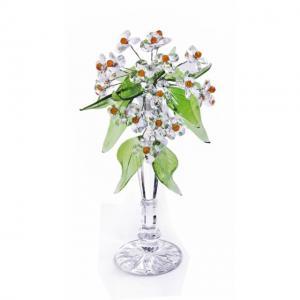 Цветок хрустальный со стразами CNA07001T/30 Cr t