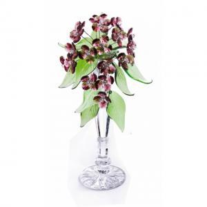 Цветок хрустальный со стразами CNA07001T/30 VIN