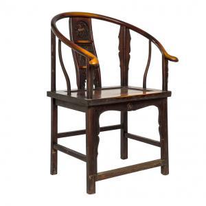 Кресло Мэй-Гуй-И в форме чайной розы. Династия Цин. BF-20902