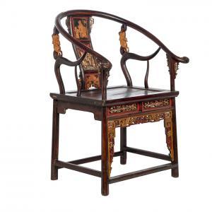 Кресло Мэй-Гуй-И в форме чайной розы. Династия Цин. BF-20907